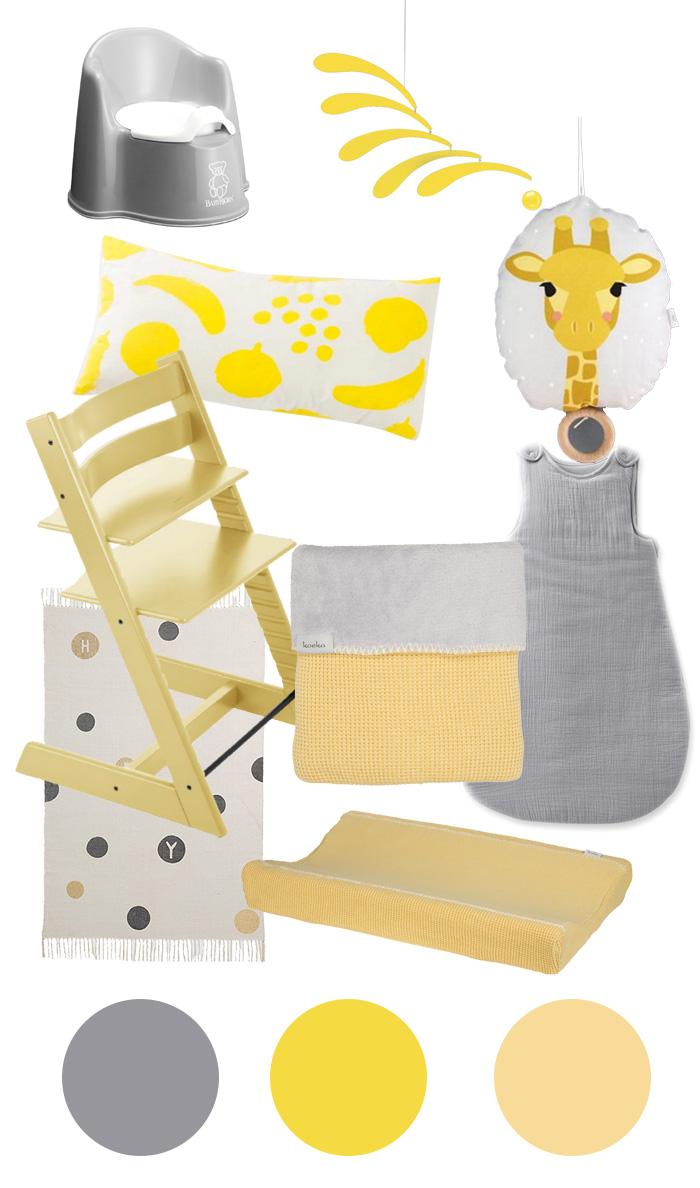 Babyzimmer gelb, aber schön! – sanvie|mini