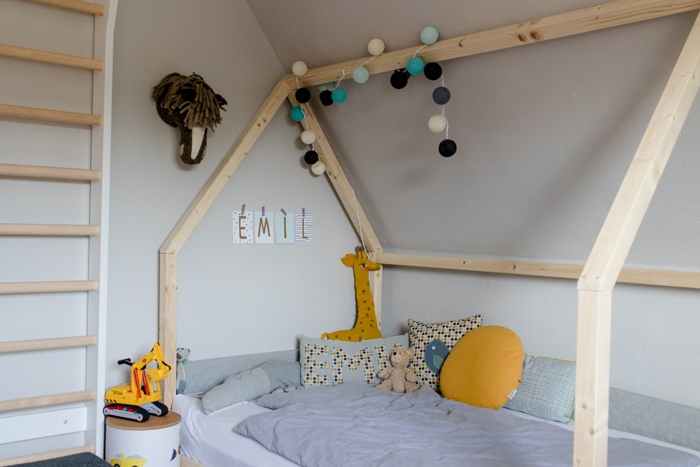 Ein Diy Hausbett Für Die Jungs Sanvie Mini