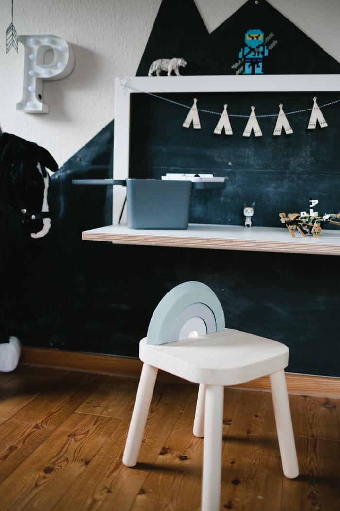 Ikea Hack Diy Regenbogenhocker Sanvie Mini